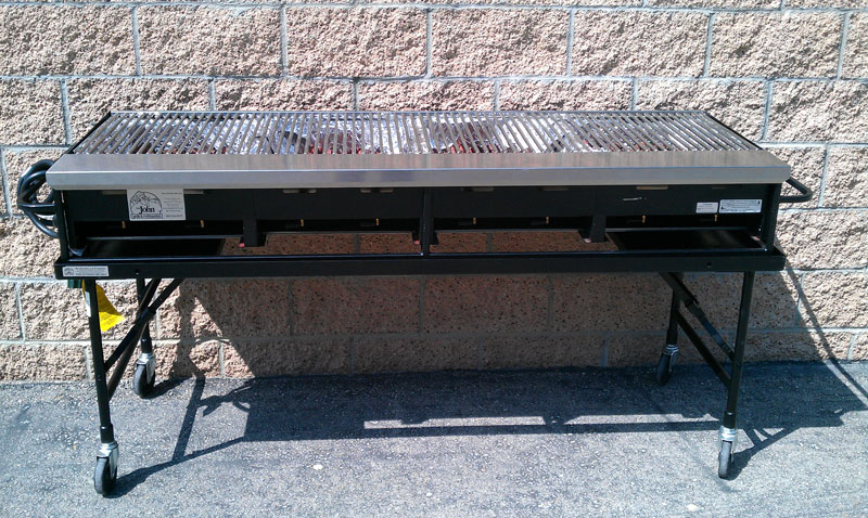 8 Burner Propane Bbq Grill 2 X 6 Amigo Party Rentals Inc
