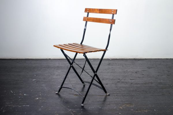 Chair, Gardern Steel & Wood