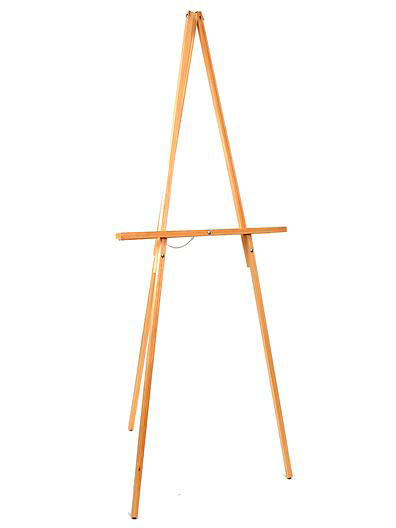 Easel–Natural-Wood