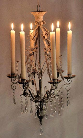 Paris-Flea-Market-Crystal-Hanging-Metal-Chandelier-Candleholder-16in-x-26in