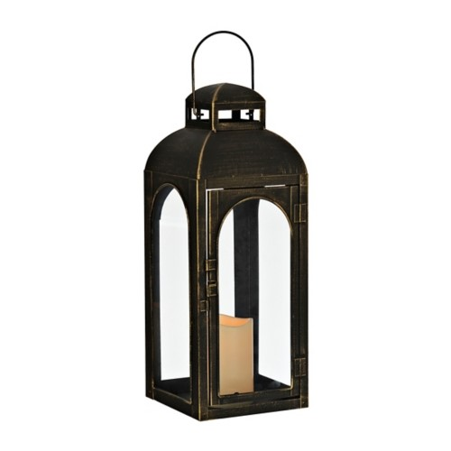 brushed-bronze-and-gold-lantern-with-led-candle