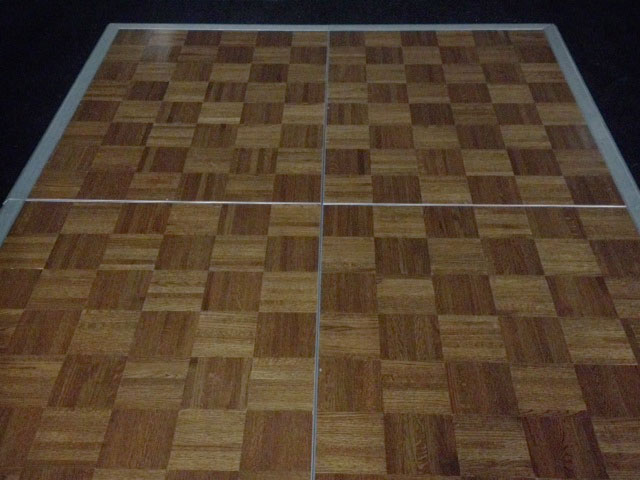 Oak Parquet Wood Dance Floor Amigo Party Rentals Inc