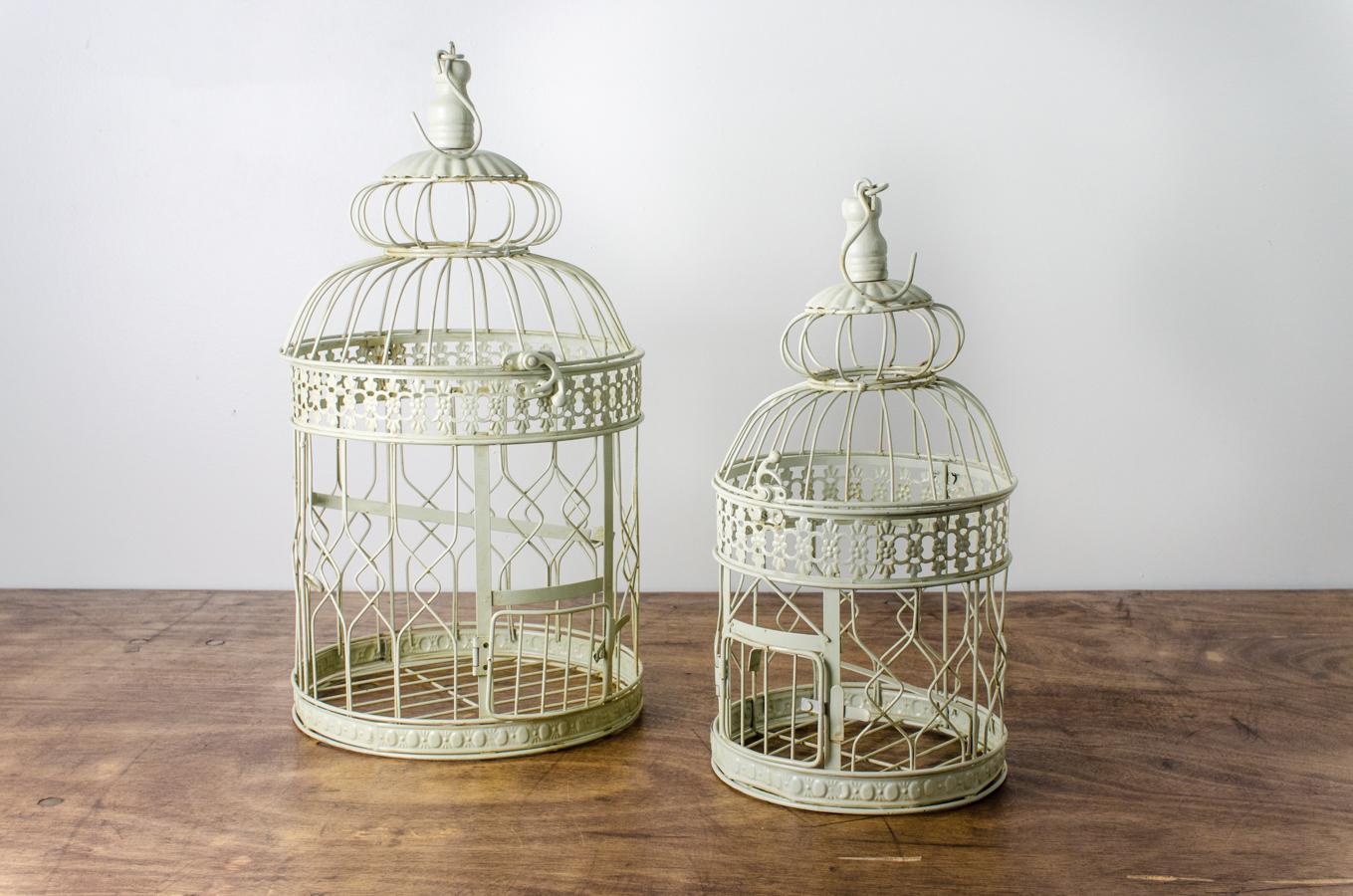 Bird Cage Set Off White | Amigo Party Rentals, Inc.