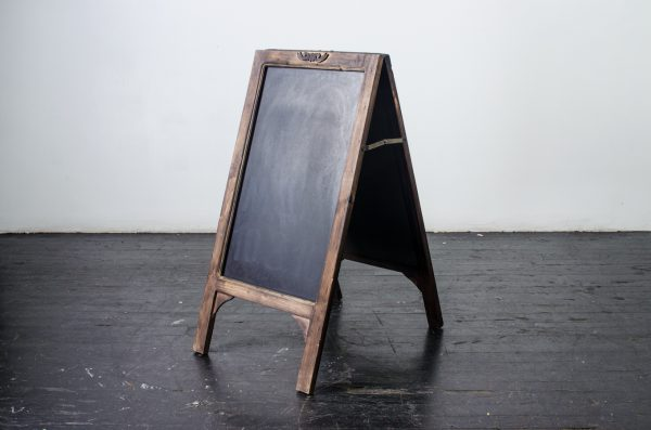Events- Weddings, chalkboard Walnut