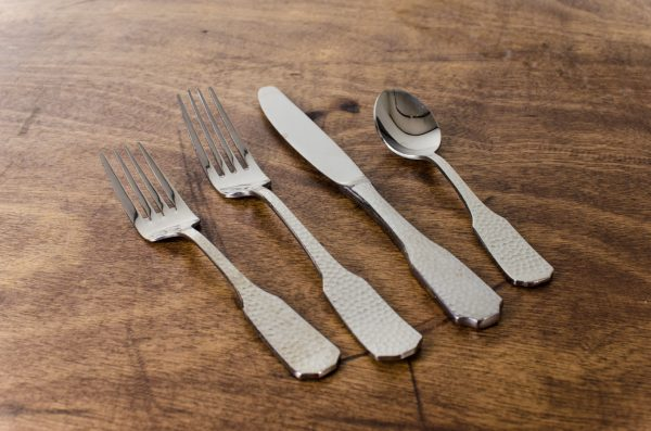 Events- Weddings, flatware hammered