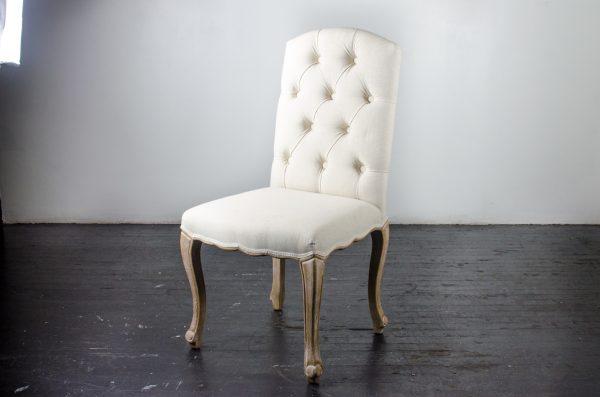 Lounge Furniture- Chair tuft oatmeal