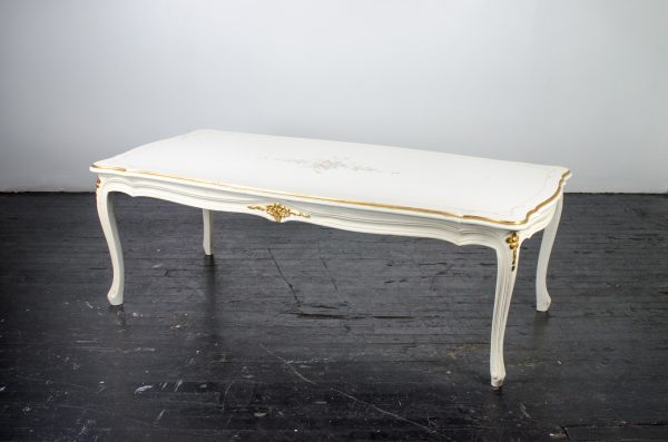 Lounge Furniture- Vintage coffee table french floral