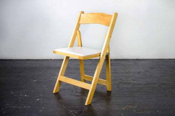 events-weddings folding chair natural Wood