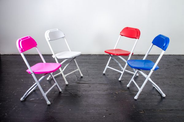 events-weddings kids folding chairs