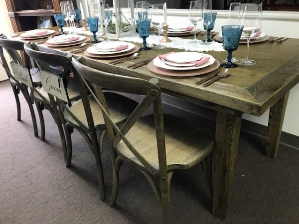 Vinyard Antique table