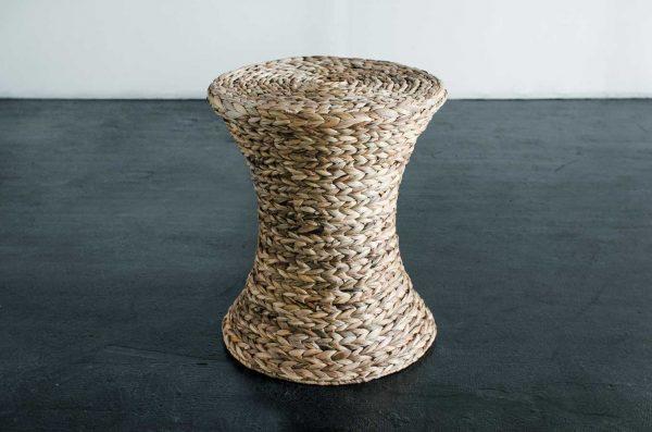 Side Table, Lynn Wicker Natural