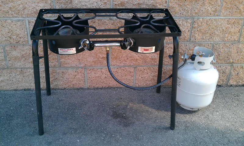 Double Propane Burner Amigo Party Rentals Inc