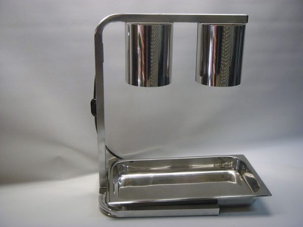 Heat-Lamp-With-Drip-Tray-Stainless