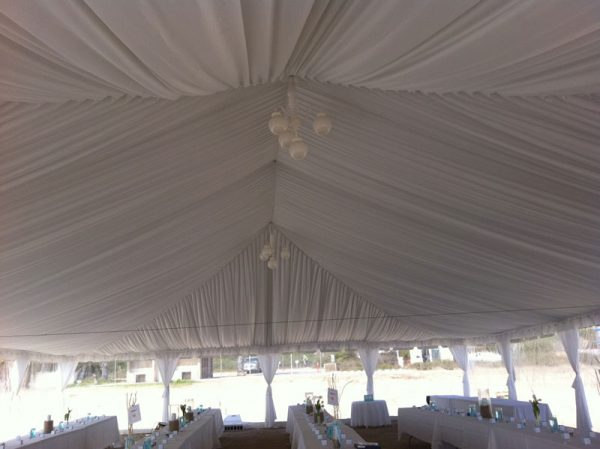 Tent-draping