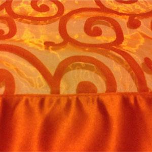 swirl-organza-with-lamour-band-Orange