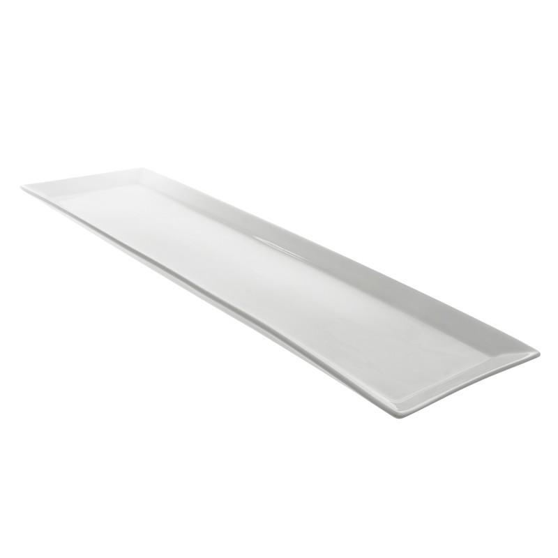 Serving Platter Whittier White 6 X20 Amigo Party