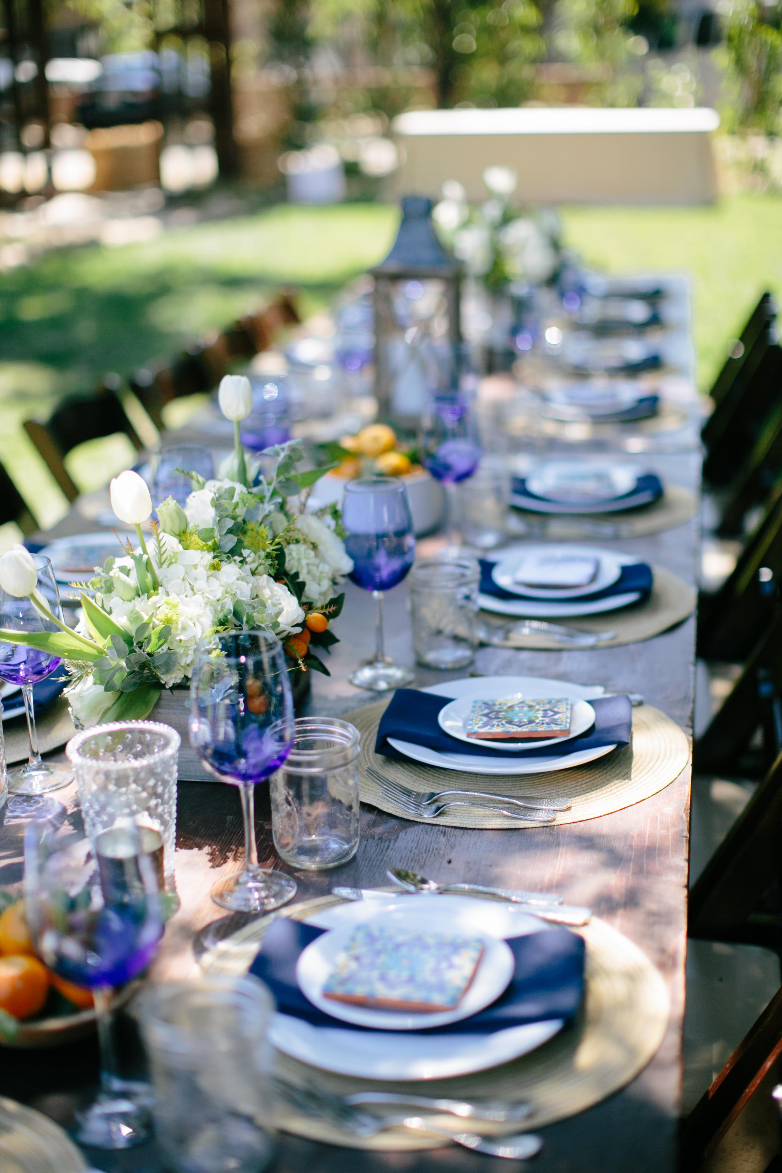 Cobalt Blue Wine Glass 18 5oz Amigo Party Rentals Inc
