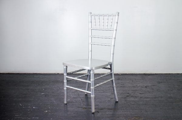 Event-Wedding Silver chiavari chair