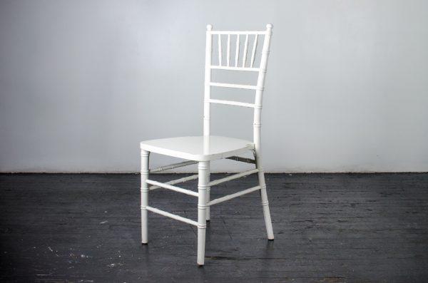 Event-Wedding white chiavari chair