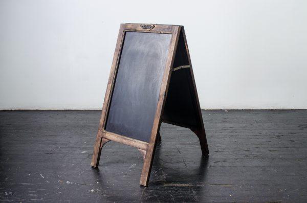Events- Weddings, chalkboard Walnut