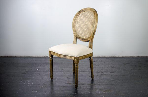 Lounge Furniture, Chair Louis Antique Oak