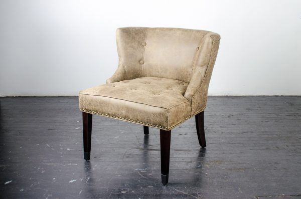 Lounge Furniture- chair distressed leather