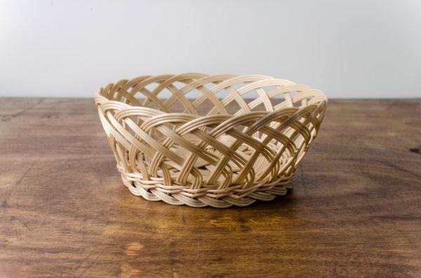 bread basket natural rattan