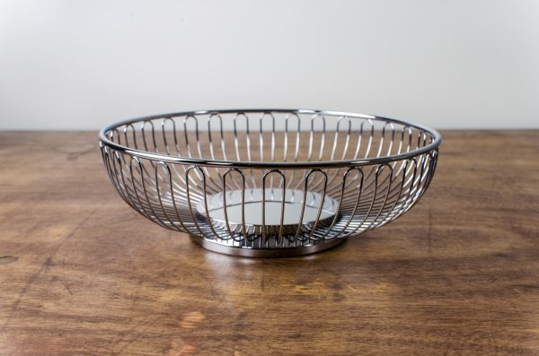 bread basket stainless
