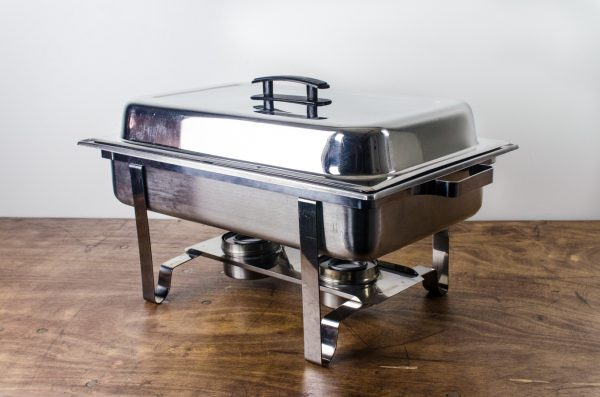 chafing dish stainless 8qt