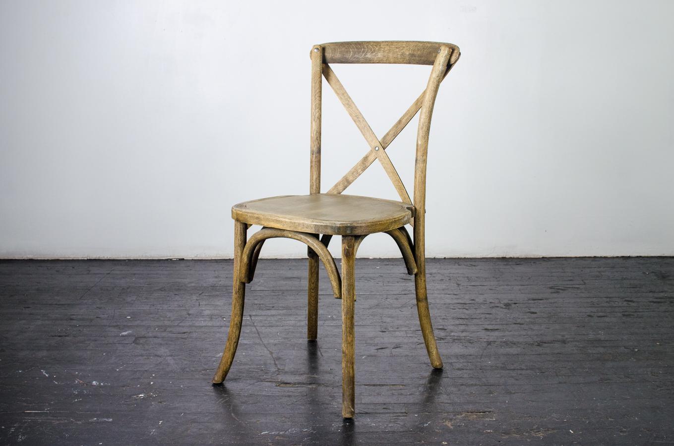 Chair Vineyard X Back Oak Amigo Party Rentals Inc