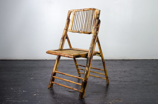 events-weddings folding chair bamboo