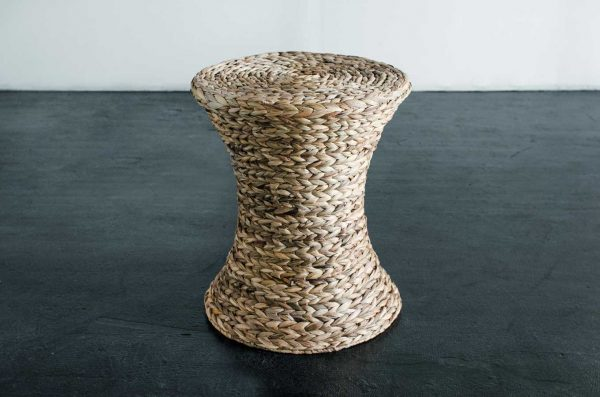 Side Table, Lynn Wicker Natural