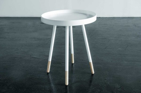 Side Table, Tray White
