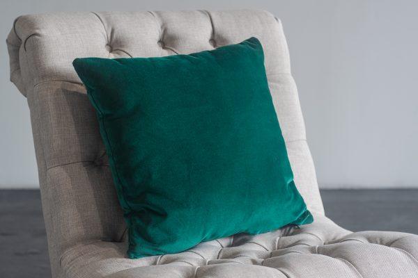 Pillow, Green Velvet