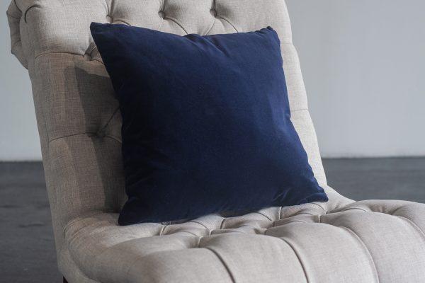 Pillow, Navy Velvet