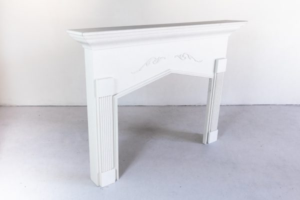 Fireplace Mantel, Off white