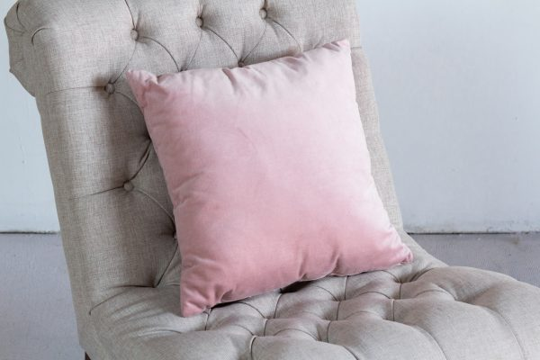 Pillow, Blush Velvet