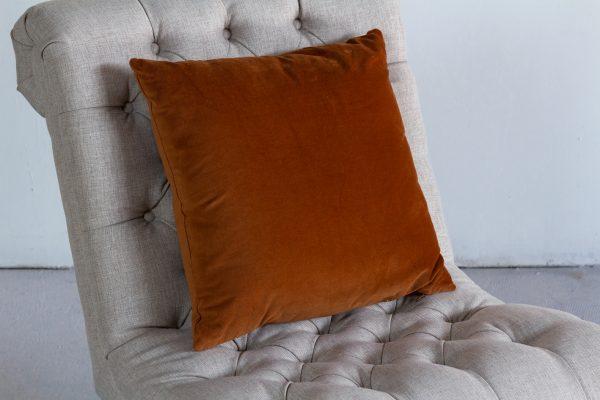 Pillow, Copper Velvet