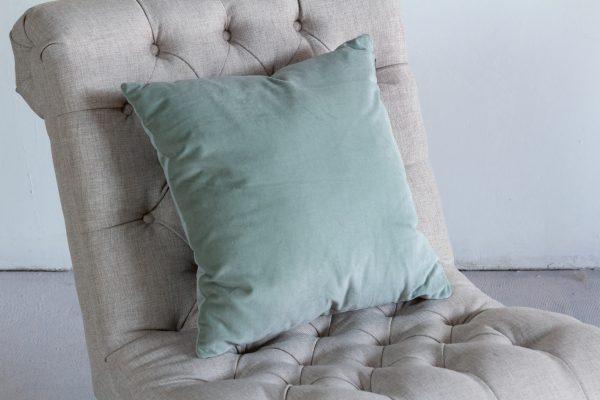 Pillow, Sage Velvet