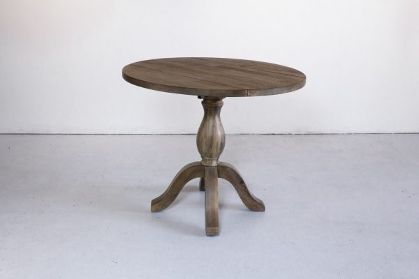 Table, Weather Gray Wood 36RND
